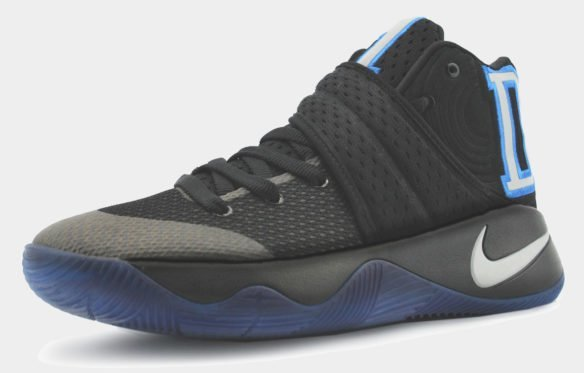 Nike Kyrie 2 черные с синим
