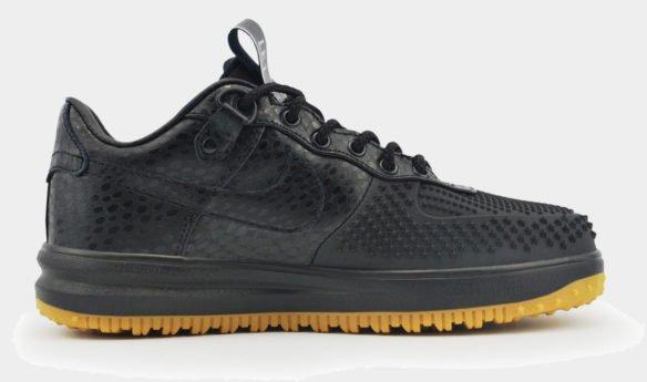 Nike Lunar Force Duckboot Low черные