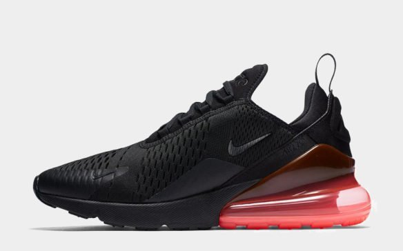 Фото Nike Air Max 270 черно-красные - 2